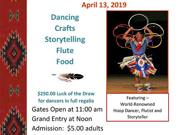 Native American Heritage Festival, Bisset Park, Radford VA, April 13, 2019