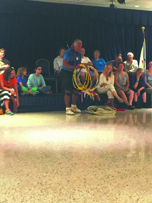 Storyteller brings hoop dance to Speak Series