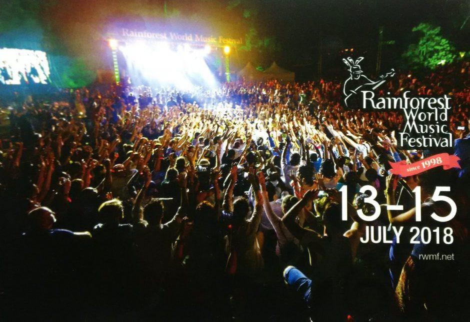 East Meets West At Rainforest World Music Festival Kevin Locke