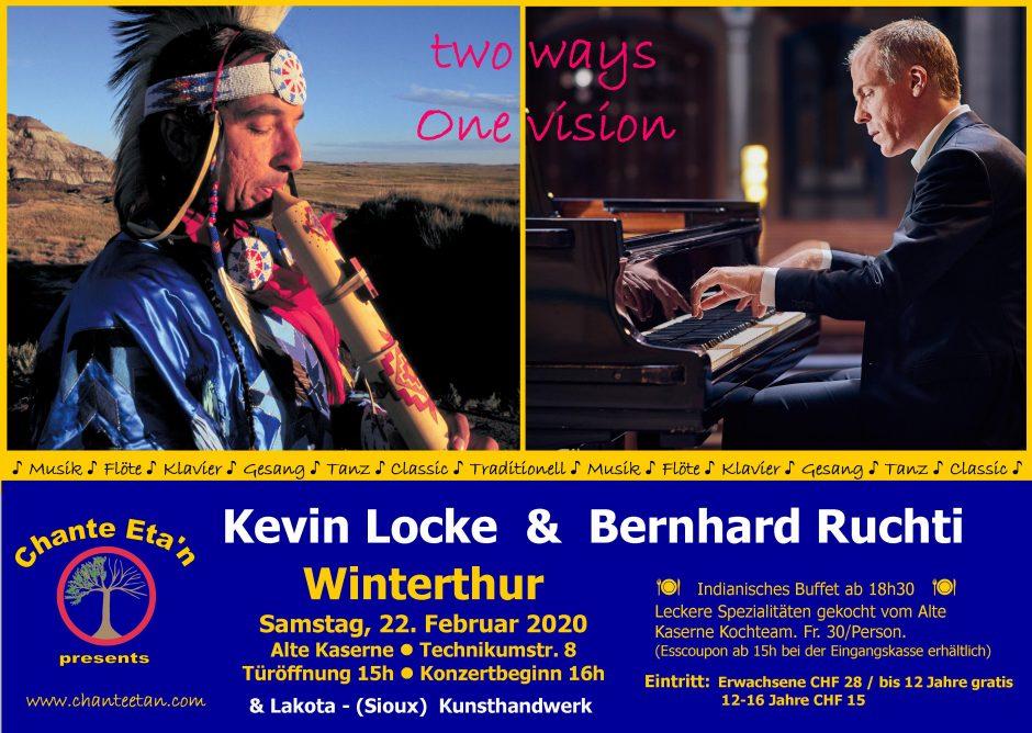Kevin Locke & Bernhard